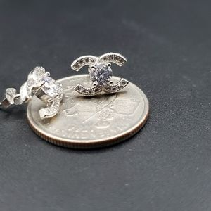 Earrings sterling silver real stamped